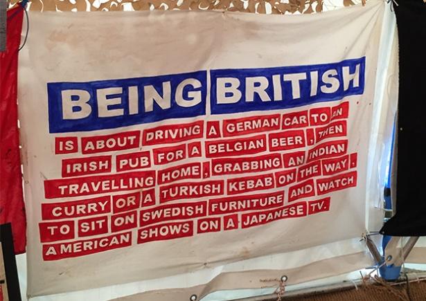 Being-British